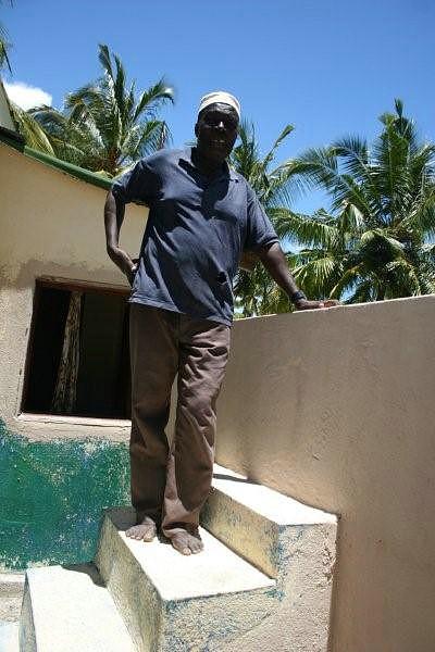 Iman responsável da Mesquita de Matemo, Selemani Njabo