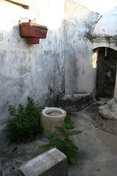 WC dos guardas da Fortaleza São João Baptista