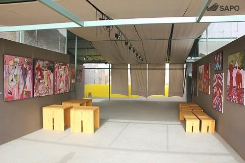 A galeria foi idealizada pela Paulina Figueira, esposa do artista plástico Tchalê