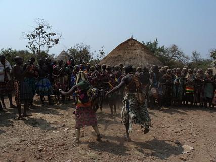Humpata, aldeia de Bata Bata