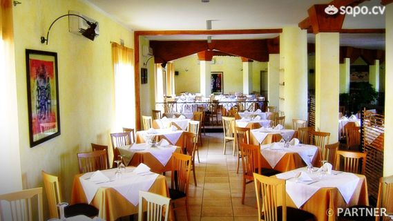 Sala do restaurante.