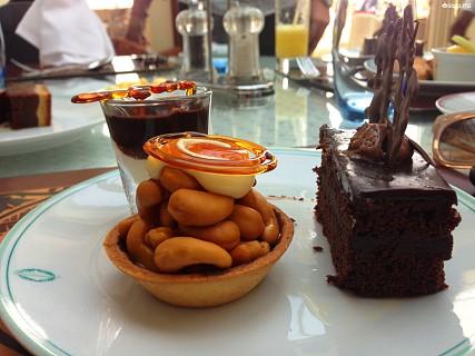 Com várias opções de sobremesas, entre o chocolate, o caramelo e a castanha, há doces para todos os gostos