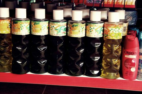 Há também produtos de higiene diversos.