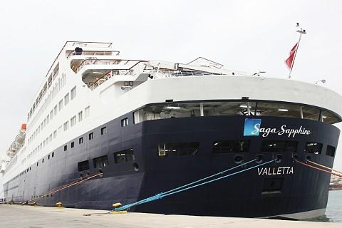 Navio-cruzeiro Saga Sapphire
