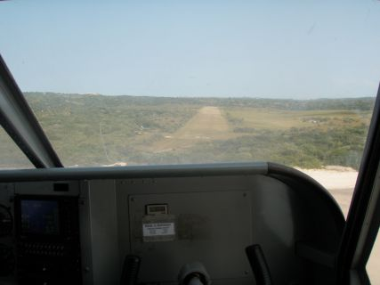 Aterragem em Benguerra
