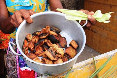 A Feira de Produtos Agroindustriais Made in Santo Antão traz  para São Vicente o que de melhor a ilha das montanhas tem para oferecer.
