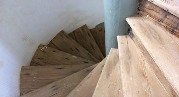 A grande escadaria