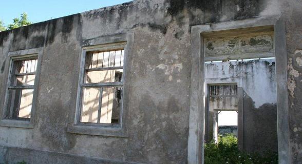 Antigos armazéns de cajú e amendoim