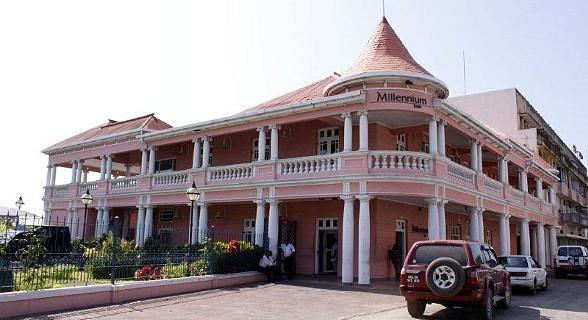 Antigo Beira Clube, actual Millennium BIM.