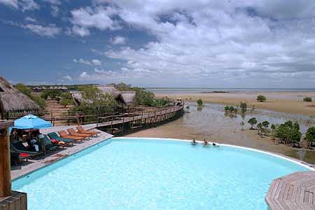 Baía de Inhambane. Inhambane. Foto: Flamingo Bay Water Lodge
