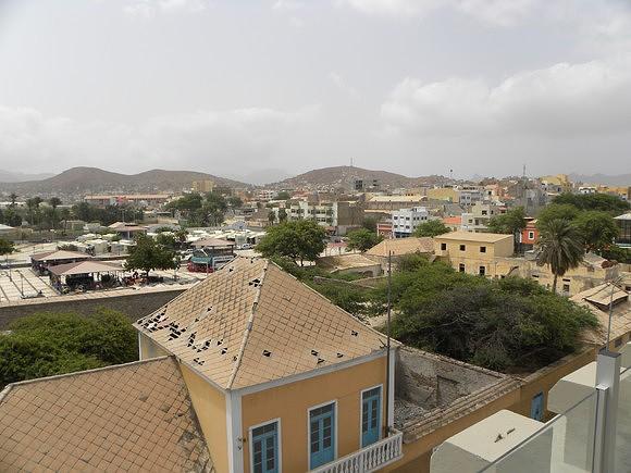 Da Torre, vista sobre a cidade do Mindelo