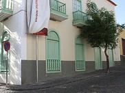 Ruas da cidade de São Filipe