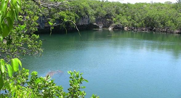 Lagoa Sagrada.