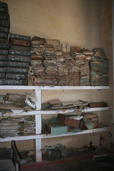 Arquivo de registos ainda intactos