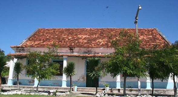 Casas coloniais da ilha
