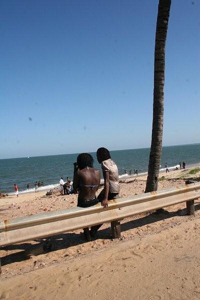 Marginal de Maputo a caminho da Costa do Sol