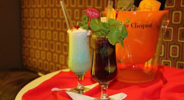 Os cocktails representam uma marca registada da casa