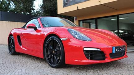 Porsche Boxster 2.7 (6 cilindros). Nacional, PDK, Só 31.000 Km