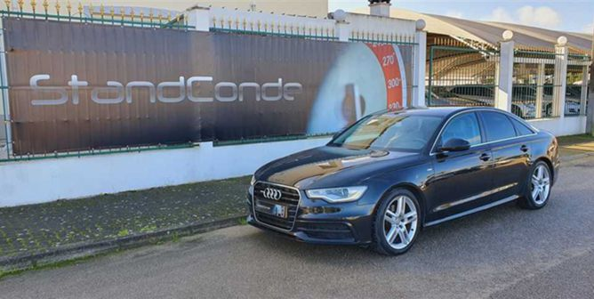 Audi A6 2.0 TDi S-line Multitronic (177cv) (4p)