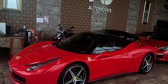 Ferrari 458 Italia  (570cv) (2p)