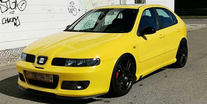 Seat Leon 1.8T Cupra +BAM+ABT 245cv
