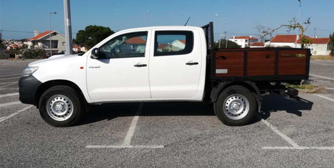 Toyota Hilux 2.5 144HP 4x2 CD