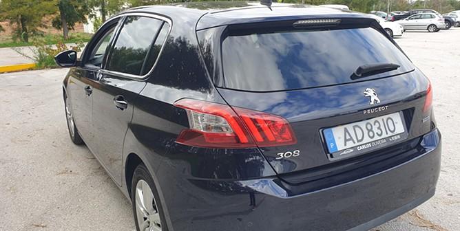 Peugeot 308 1.6 BlueHDi Allure J17 EAT6 (120cv) (5p)