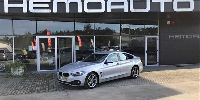 BMW Série 4 Gran Coupé 418d Line Sport Aut. (143cv) (4p)