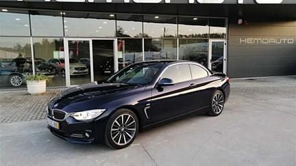 BMW Série 4 420d Cabrio Line Luxury Aut. (184cv) (2p)