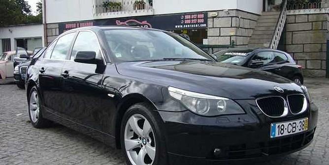 BMW Série 5 520 d 17 (163cv) (4p)