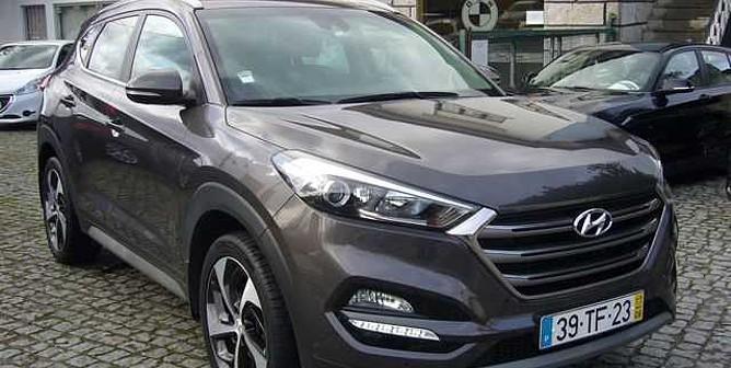 Hyundai Tucson 1.7  CRDI  Premium  JLL 19 / Pele / GPS