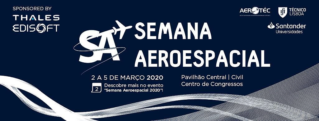 Cartaz Semana Aeroespacial 2020